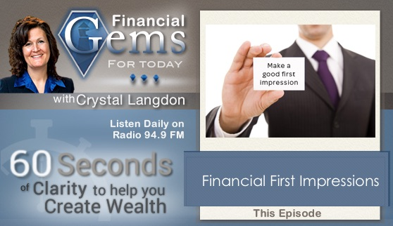 Financial First Impressions
